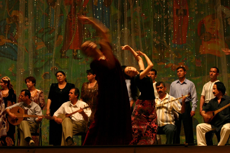 23 - Une danse Tadjike, festival du Shashmaqam, Dushanbe