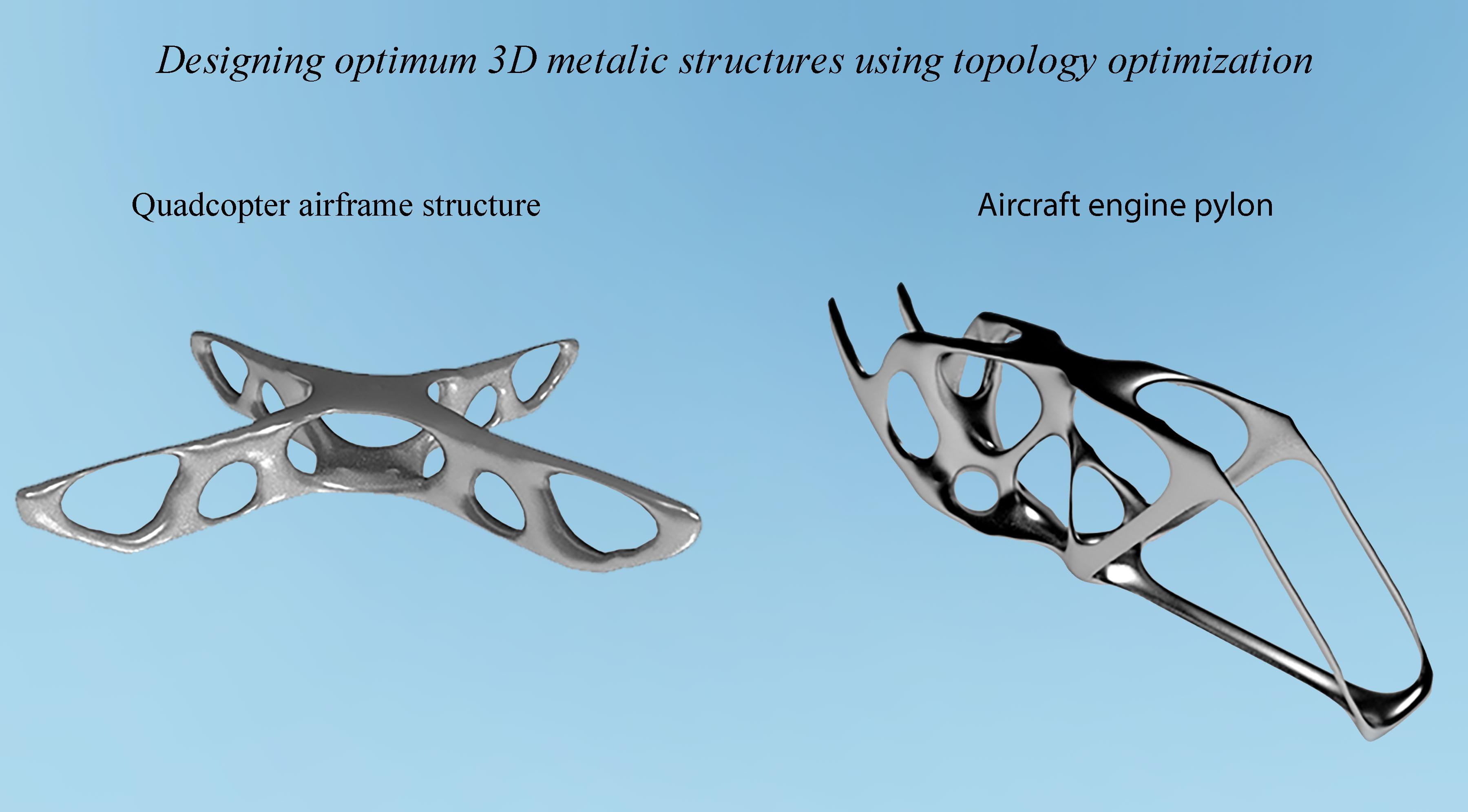 25 - Designing optimum 3D metalic structures using topology optimization