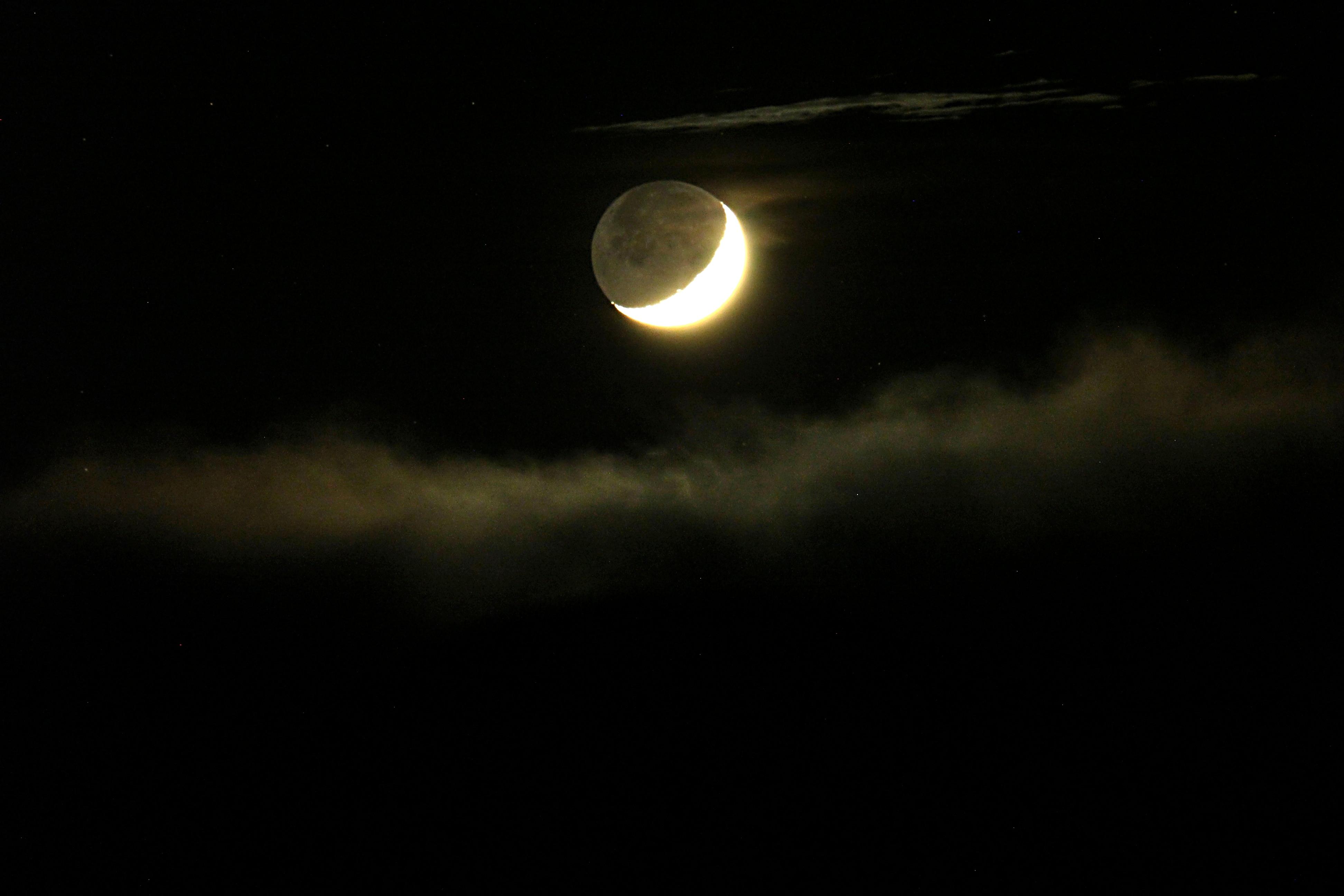 60 - Lumiére cendrée de la Lune