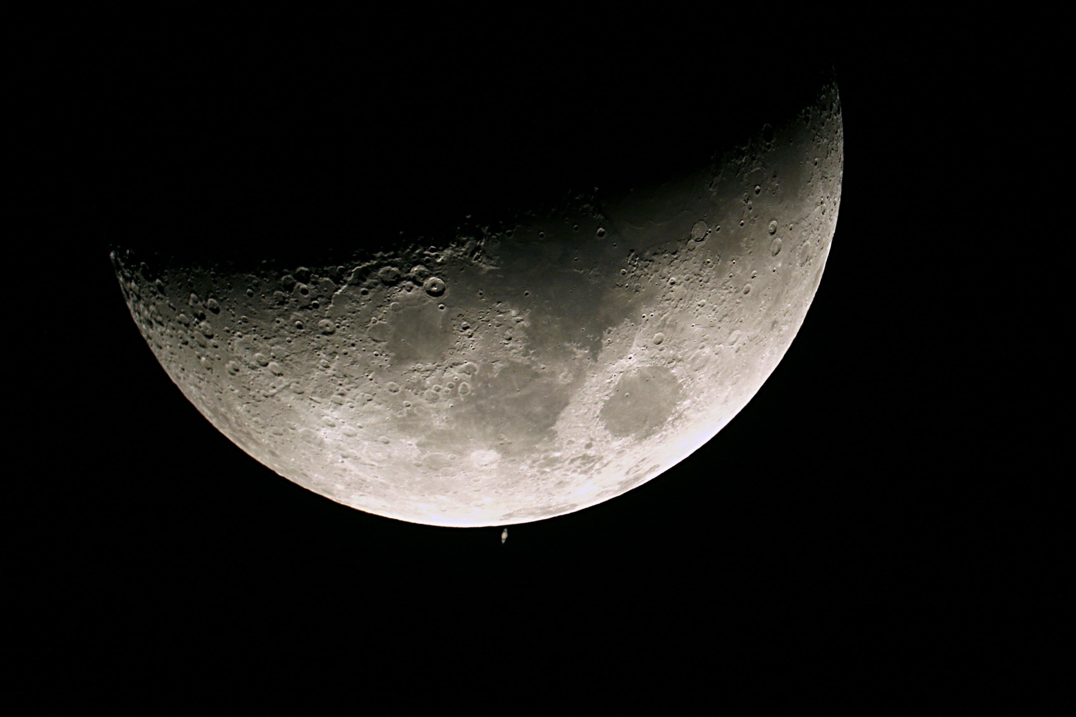 68 - Occultation de Saturne par la lune